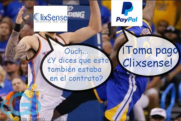 Patada Paypal Clixsense