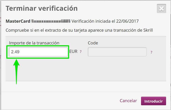 Terminar la verificación y comprobar