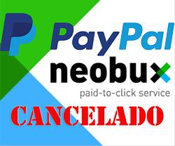 Neobux deja de pagar por PayPal [Notícia]