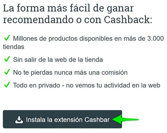 Cashbar-Extensión-Aklamio