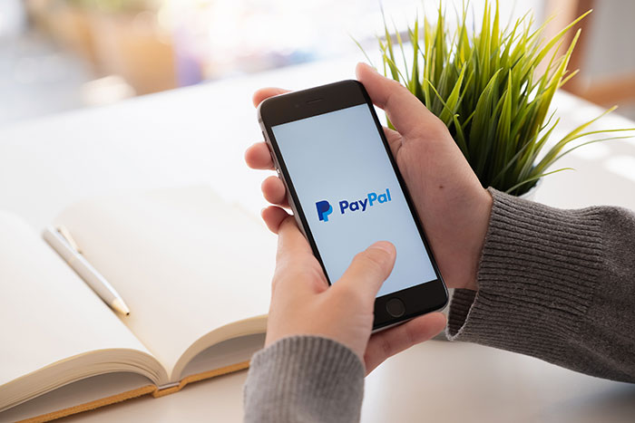 Como crear cuenta de PayPal