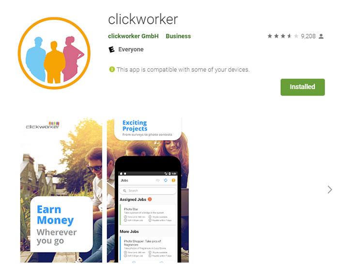 6 App clickworker