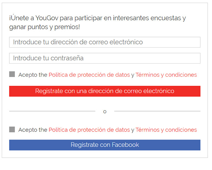 2 registrarse en yougov