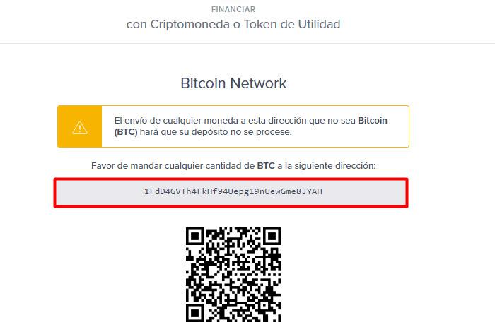 4 Como recibir bitcoins en Uphold