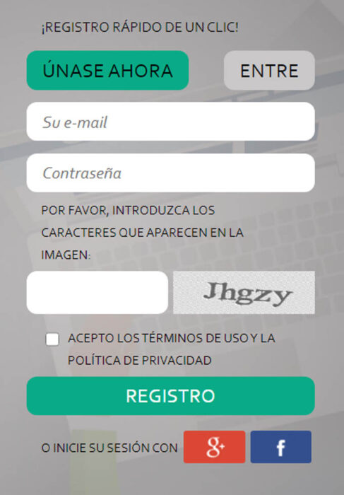 1 como registrarse en SurveyPronto
